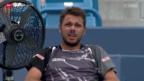 Video «Tennis: Wawrinka besiegt Cilic» abspielen
