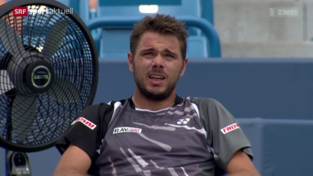 Video «Tennis: Wawrinka besiegt Cilic» abspielen
