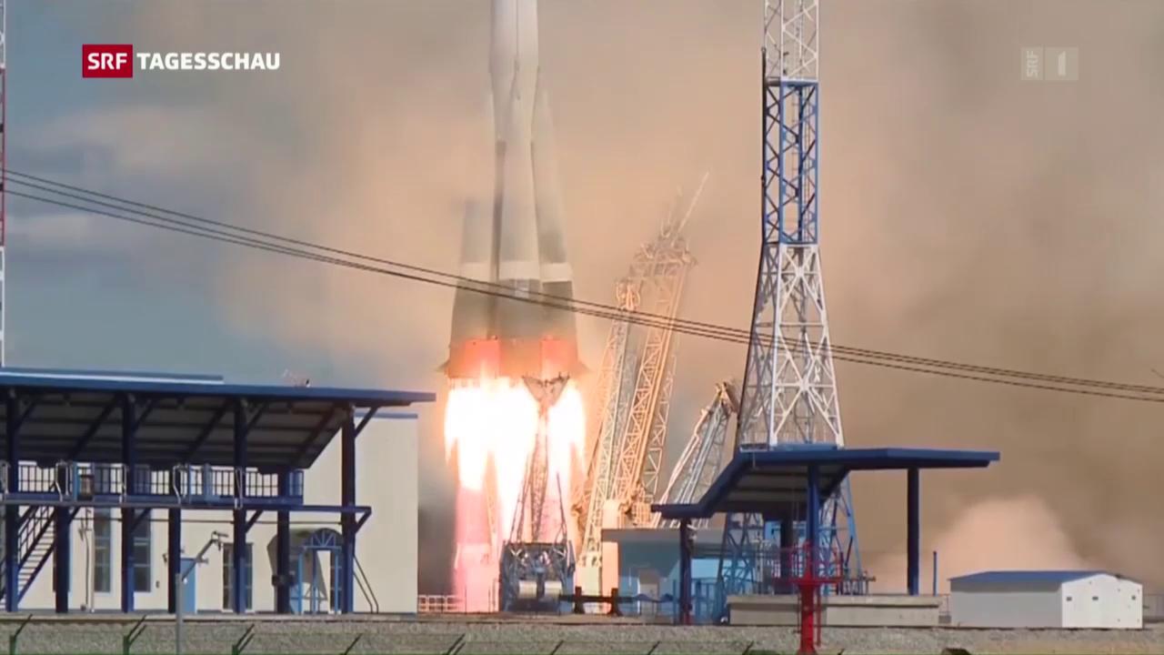 Neuer Weltraumbahnhof in Sibirien