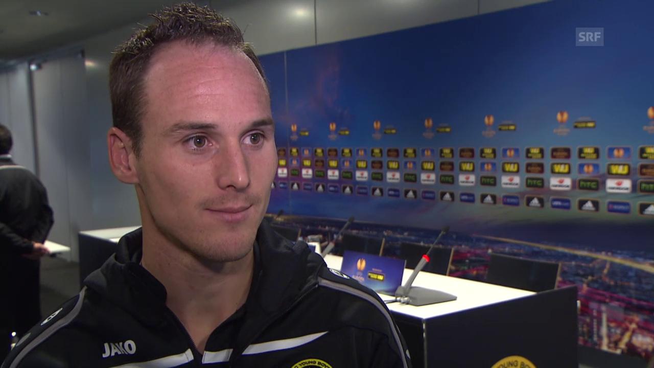 Fussball: EL, Steve Von Bergen vor YB - Everton