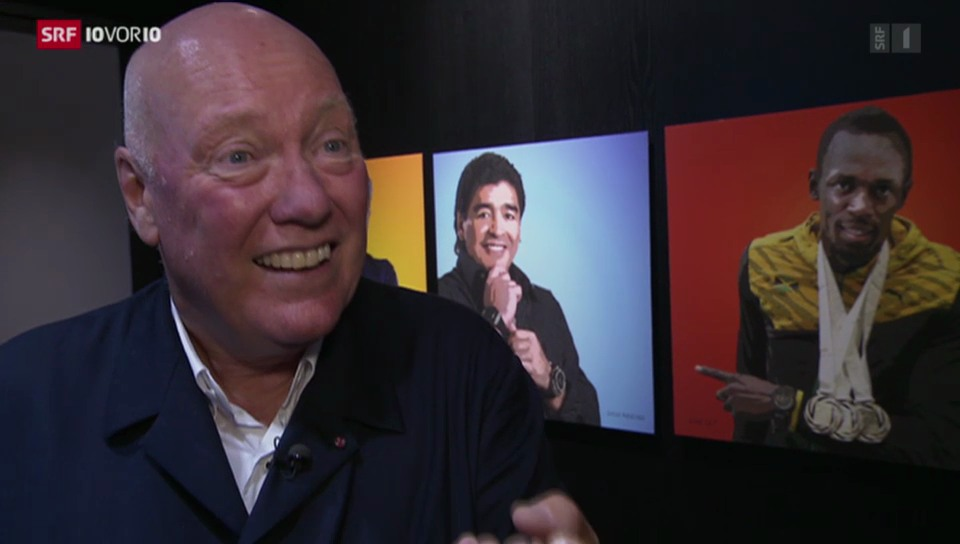 Uhrenmanager Jean-Claude Biver