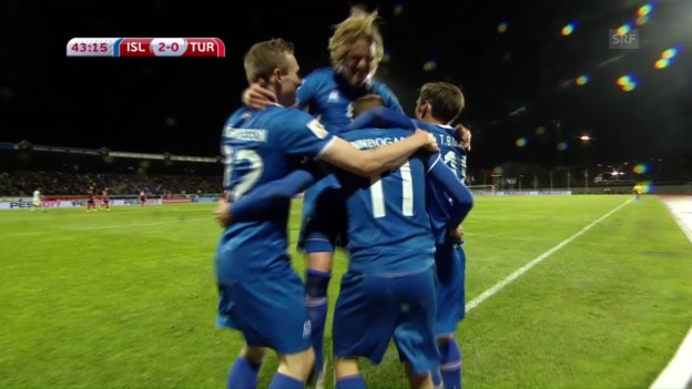 Video «Island bezwingt die Türkei» abspielen