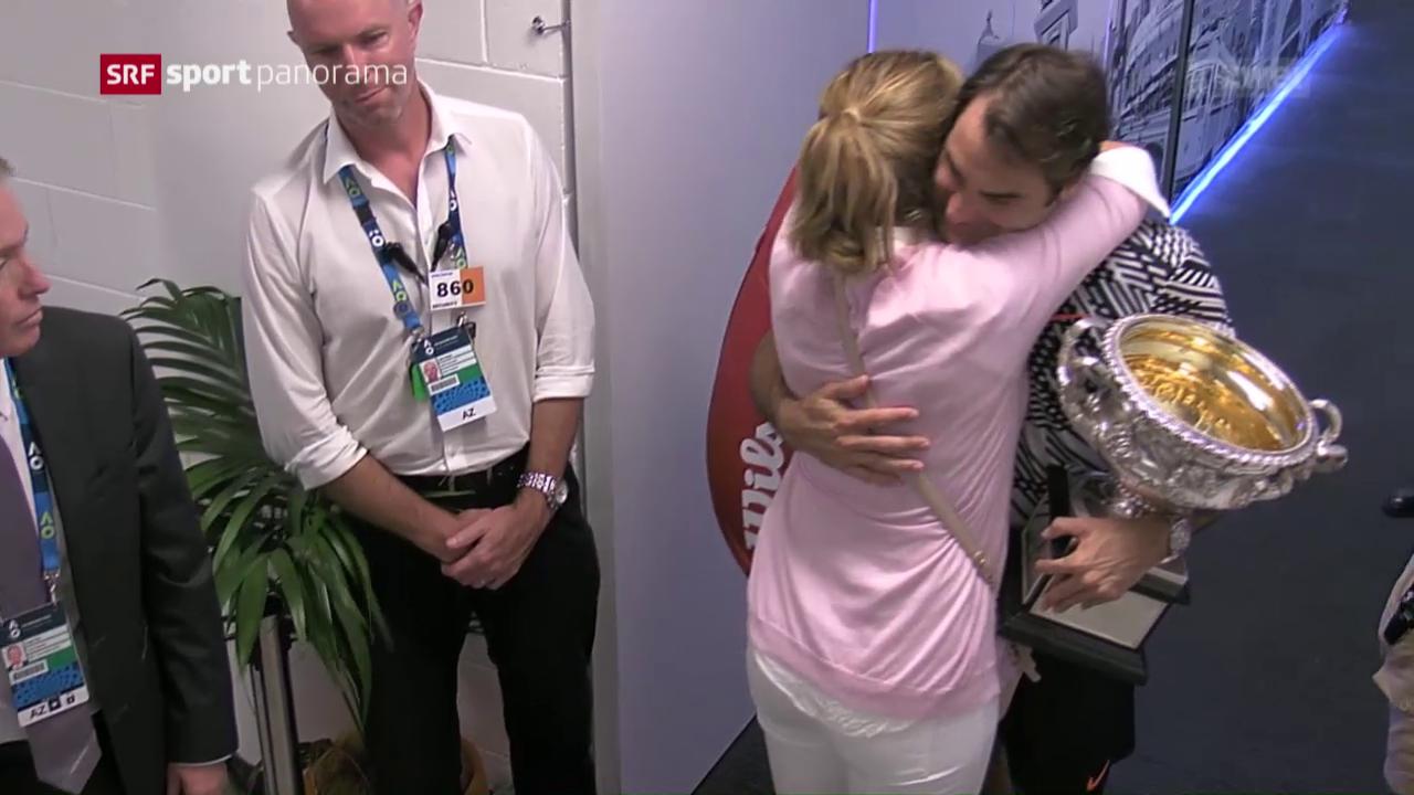 Emotionen nach dem Melbourne-Final