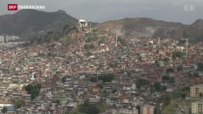 Video «Angespannte Lage in den Favelas» abspielen