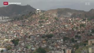 Video «Angespannte Lage in den Favelas» abspielen