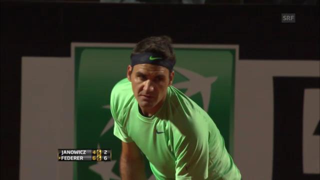 Highlights Federer-Jankowicz