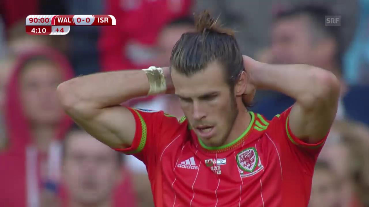EURO-Quali, Offside-Tor von Wales gegen Israel