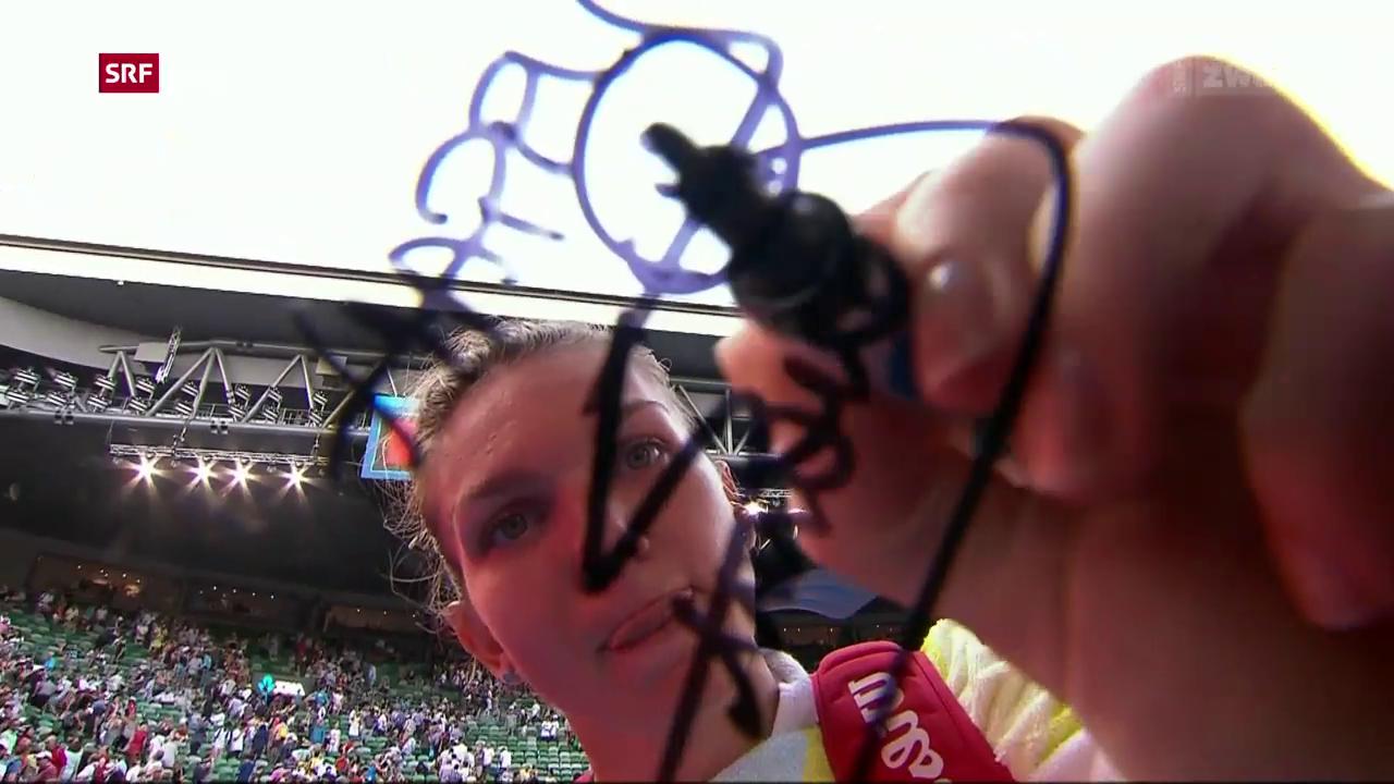 Halep und Wozniacki im Final