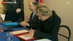 Video «Wirtschaftskommission des Nationalrats gegen Erbschaftssteuer mit Frankreich» abspielen