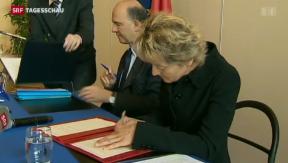 Video «Wirtschaftskommission gegen Erbschaftssteuer mit Frankreich» abspielen
