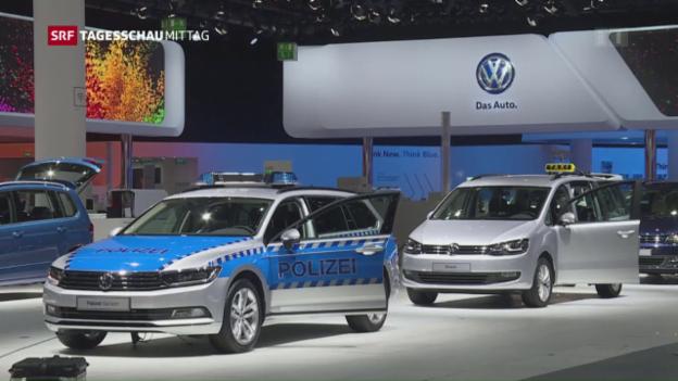 Video «VW steht vor Einigung mit den US-Behörden» abspielen