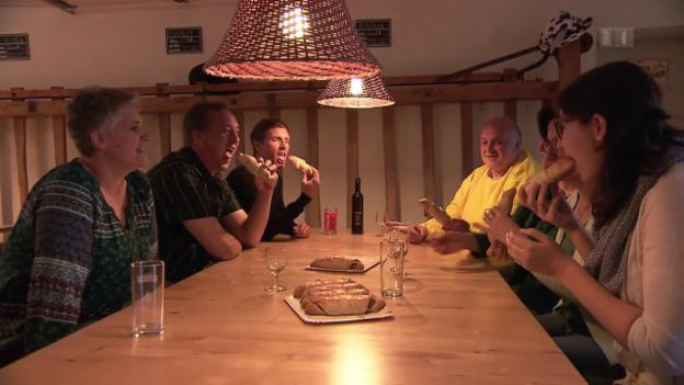 Video «Ramser Sportmuffel – Wie nachhaltig war das «Puls»-Training?» abspielen