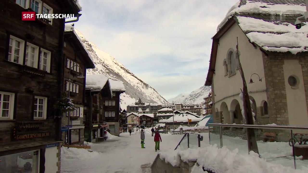 Zermatt wieder per Bahn erreichbar