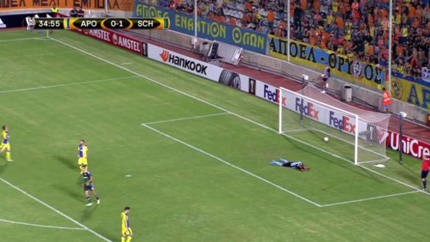 Video «Fussball: Europa League, Nikosia – Schalke» abspielen