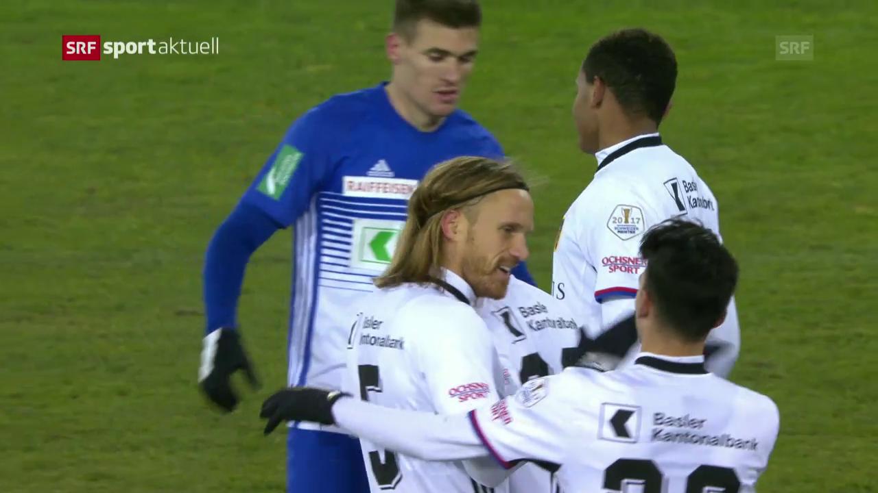 Lausanne geht gegen Basel unter