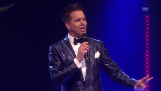 Video «Sven Epiney offenbart sein künstlerisches Talent» abspielen