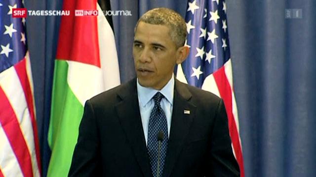 Obama trifft Abbas