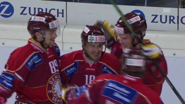 Video «Eishockey: Spengler Cup, Genf-Servette - Jokerit Helsinki» abspielen