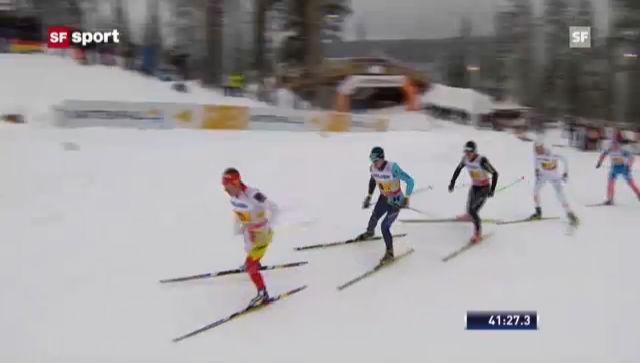 Langlauf-Staffel: Zusammenfassung («sportpanorama»)