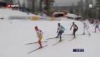 Video «Langlauf-Staffel: Zusammenfassung («sportpanorama»)» abspielen