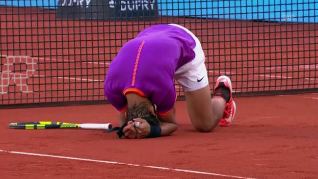 Video «Die Highlights bei Nadal - Thiem» abspielen