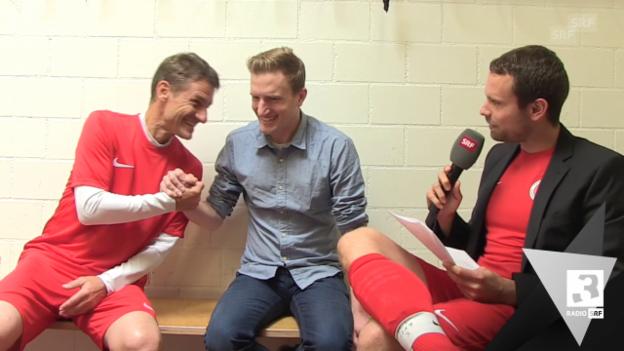 Video ««Besser als Büsser» mit Fussballtrainer Urs Meier» abspielen