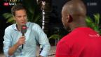 Video «Fussball: Gespräch mit Studiogast Gelson Fernandes, Teil II» abspielen