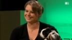 Video «Katharina Wermuth und Kaninchen Nikolai» abspielen