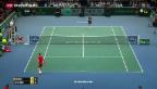 Video «Federer im Viertelfinal out» abspielen