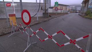 Video «Autobahnausfahrt Zürich-Aubrugg ist geschlossen» abspielen