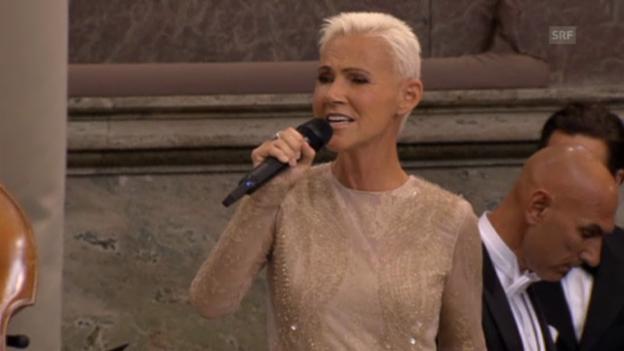 Video «Madeleines Hochzeit: Auftritt Marie Fredriksson» abspielen