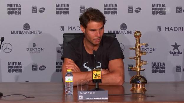 Video «Nadal: «Sehr emotionale Zeit für mich»» abspielen