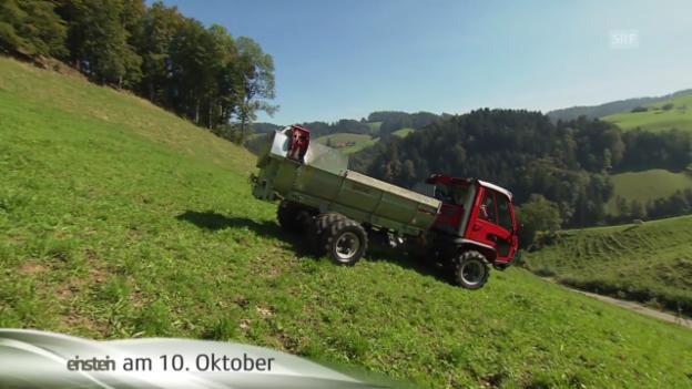 """Video ««Einstein» entdeckt ... """"Tractor of the year""""» abspielen"""
