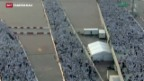 Video «Massenpanik bei Mekka» abspielen