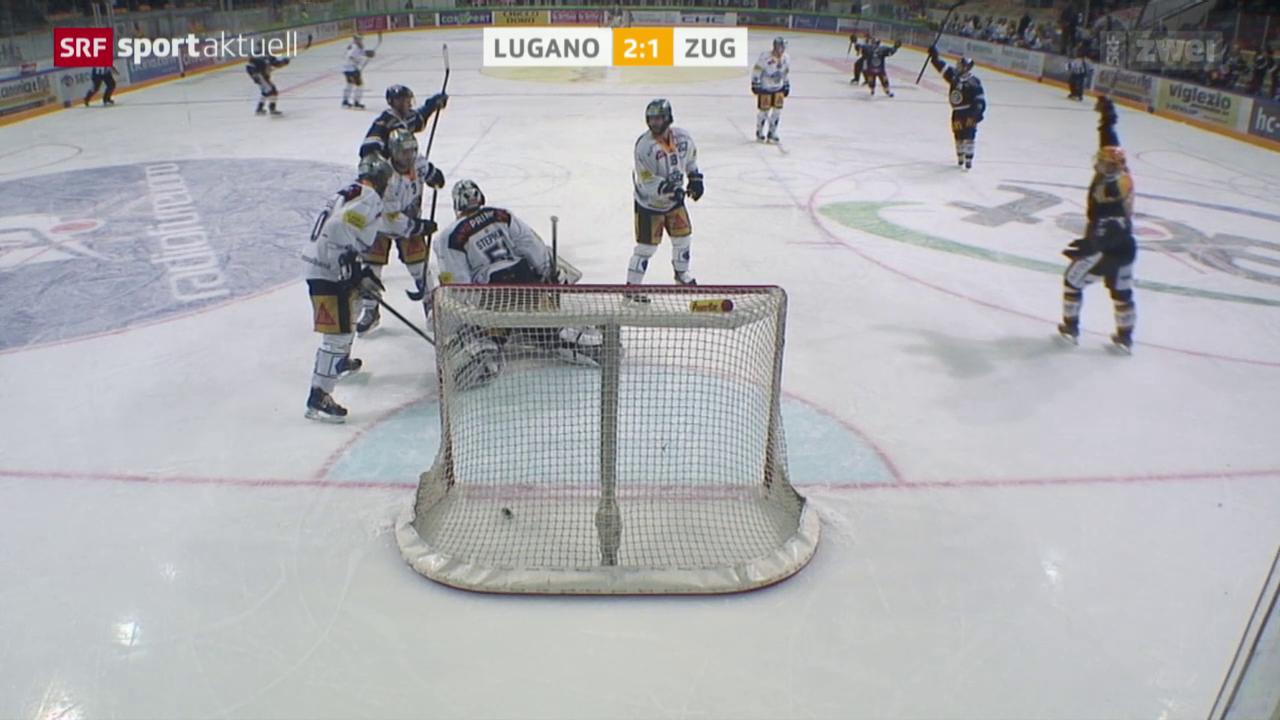 Playoff-Hauptprobe geht an Lugano