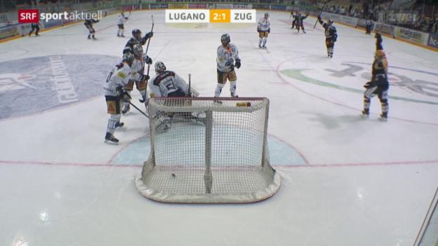 Video «Playoff-Hauptprobe geht an Lugano» abspielen