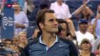 Video «Federer im US-Open-Achtelfinal («sportpanorama»)» abspielen