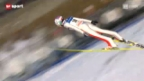Video «Skispringen: Grosschanze in Lillehammer» abspielen