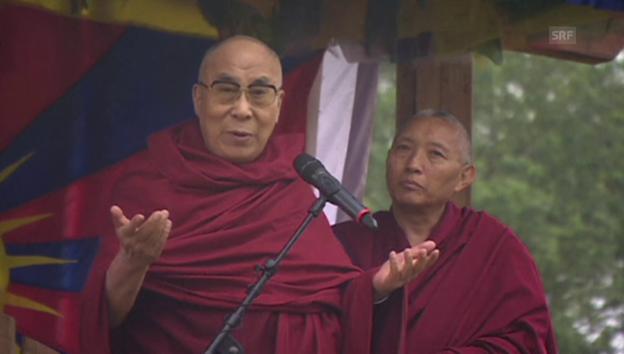 Video «Der Dalai Lama gibt Tipps fürs Leben» abspielen