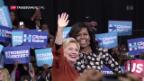 Video «Michelle Obama hilft beim US-Wahlkampf» abspielen