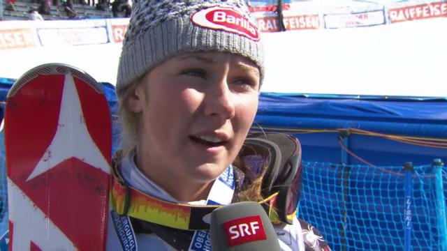 Ski: Interview mit Shiffrin