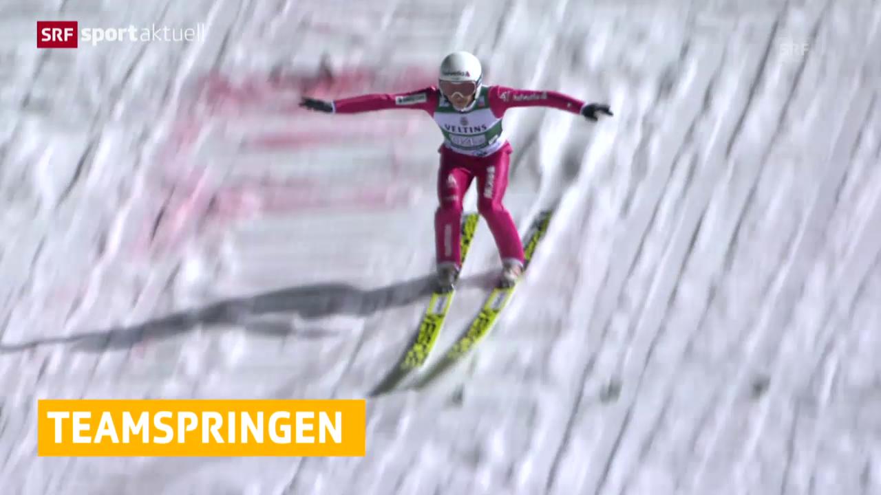 Skispringen: Teamwettkampf in Klingenthal («sportaktuell»)