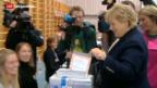 Video «Norwegen wählt neues Parlament» abspielen