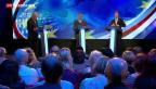 Video «Britischer Rechtspopulist Farage gewinnt Rededuell vor Europawahl» abspielen