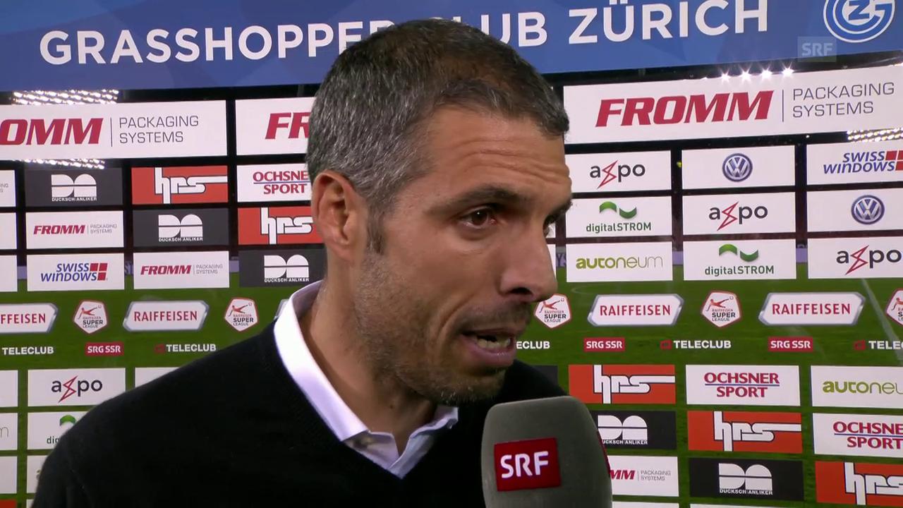 Celestini: «Die offensive Dynamik hat gefehlt» (franz.)