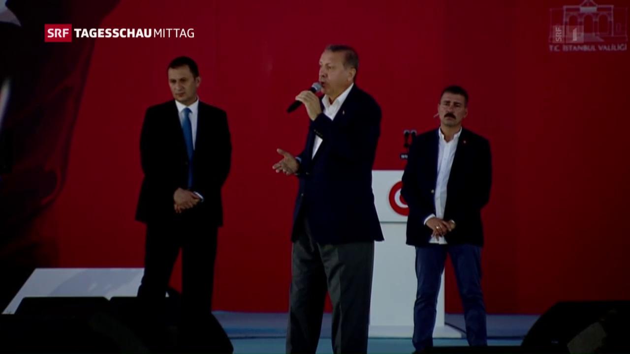 Erdogan attackiert Europa