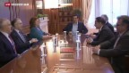 Video «Zweite heisse Abstimmung in Athen» abspielen
