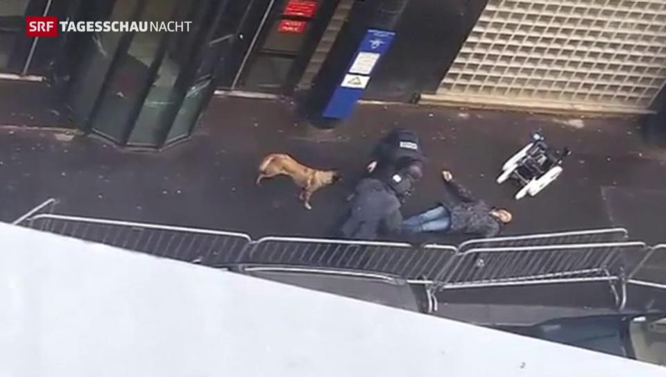Angriff auf Polizeistation in Paris
