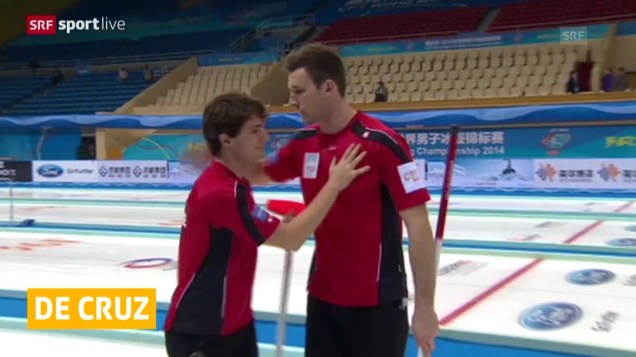 Curling: Schweizer auf Playoff-Kurs