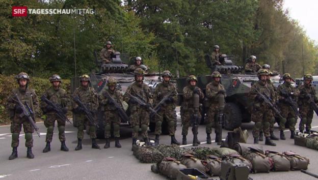 Video «Ständerat für Armeereform» abspielen